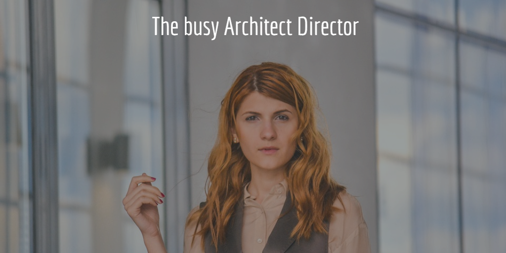 The busy Architect Director